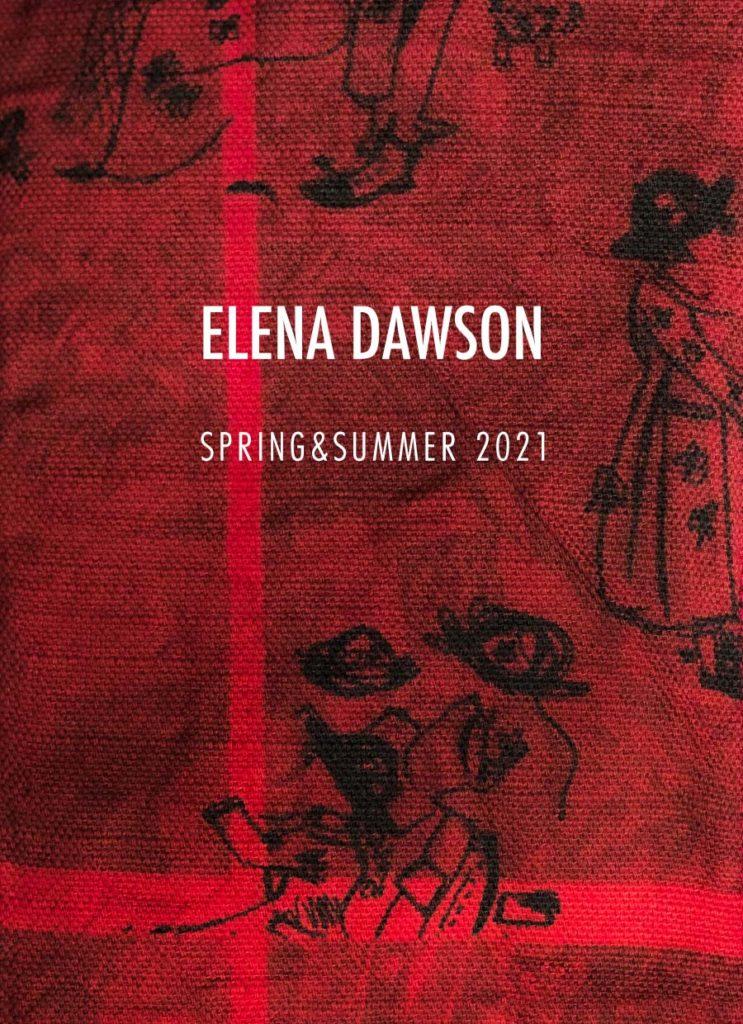 エレナ ドーソン  2021年春夏コレクション 5月1日発売開始
