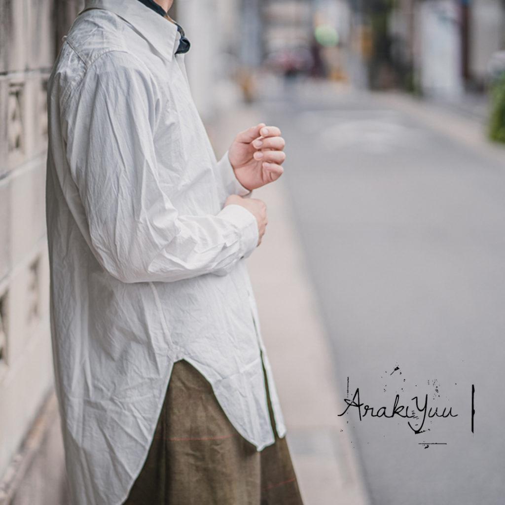 アラキ ユウのニュークラシック シャツ