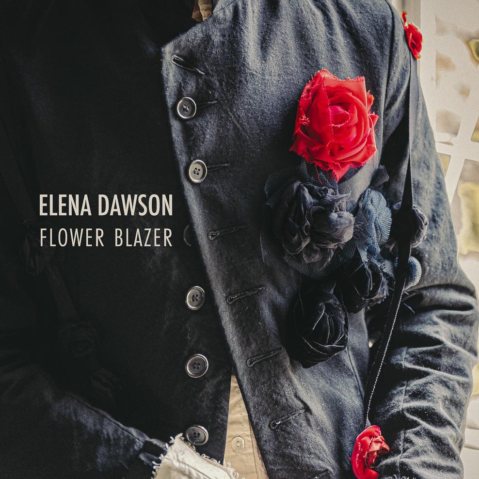 エレナ ドーソン 8ボタン フラワーノッチドブレザー