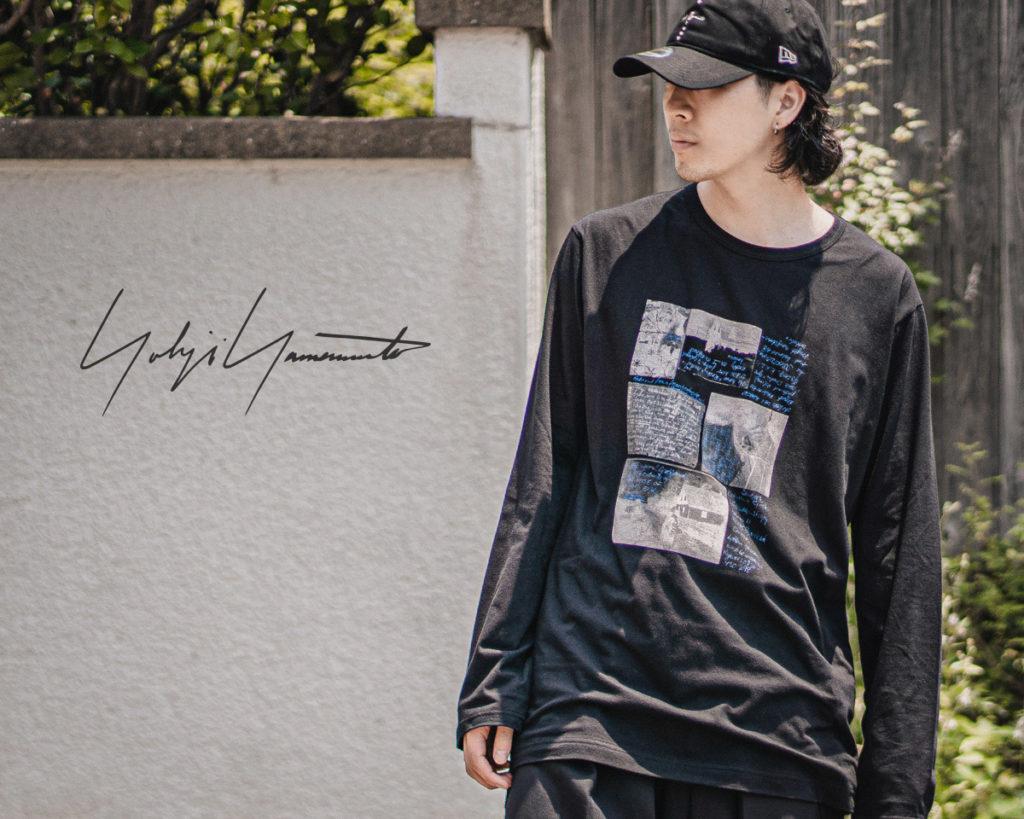 ヨウジヤマモト 2021-22AW プリントTシャツ L/S