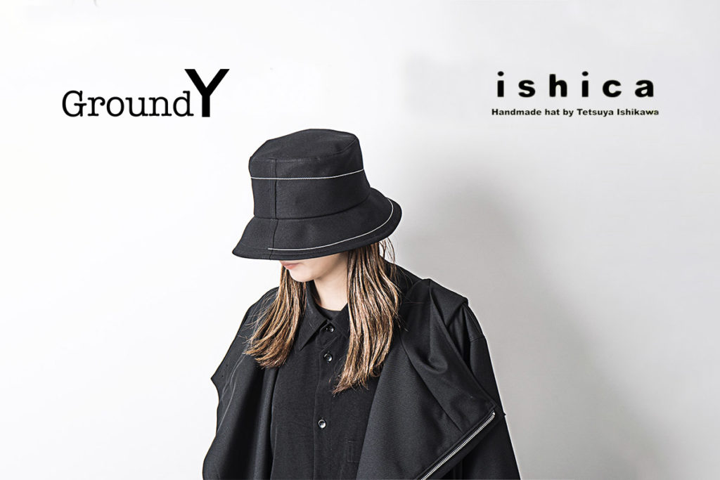 Ground Y × ishica コラボレーションハット4型