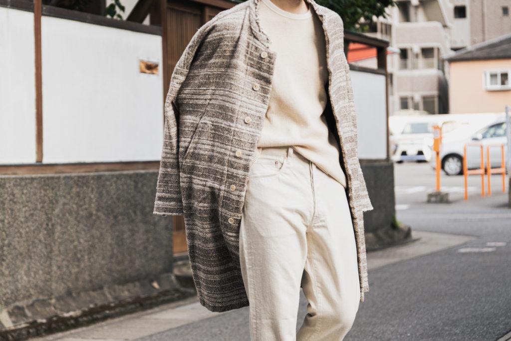 コトル 「アースウォール」のコートとジャケット