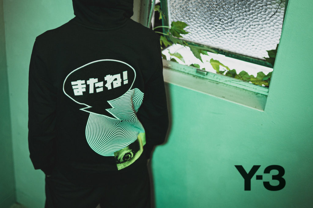Y-3 21-22AW GFX Hoodie