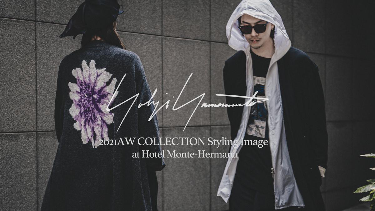 YOHJI YAMAMOTO 21-22AW Style Image