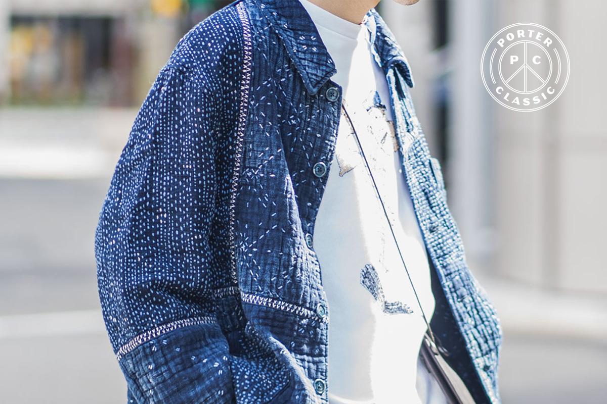 ポータークラシックのKOGIN ART フレンチジャケット