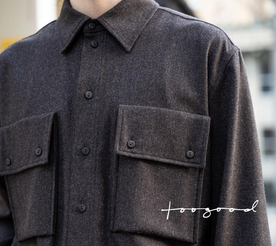 トゥーグッドのウッドマン シャツ