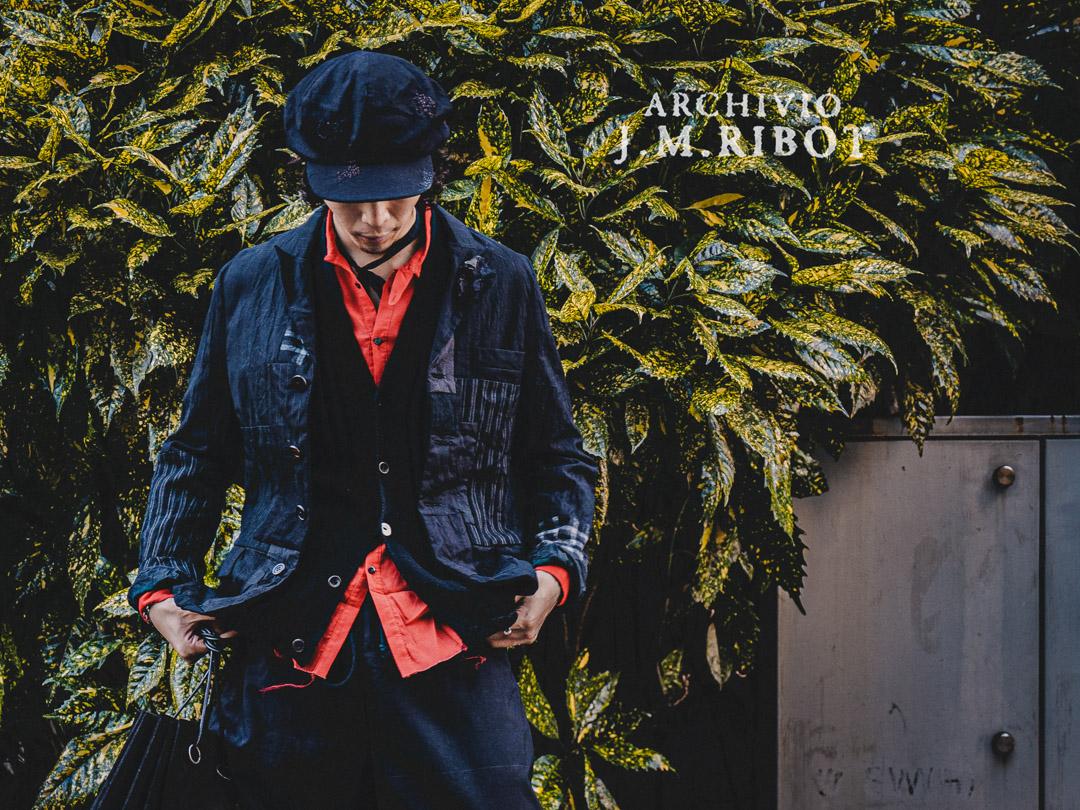 ARCHIVIO J.M.Ribot パッチワークジャケット